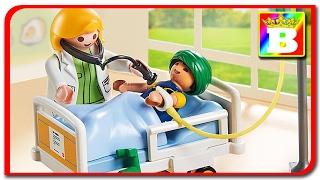 Playmobil City Life 6661 - Copilul la medic unboxing si review. Playmobil Story  Bogdan`s Show