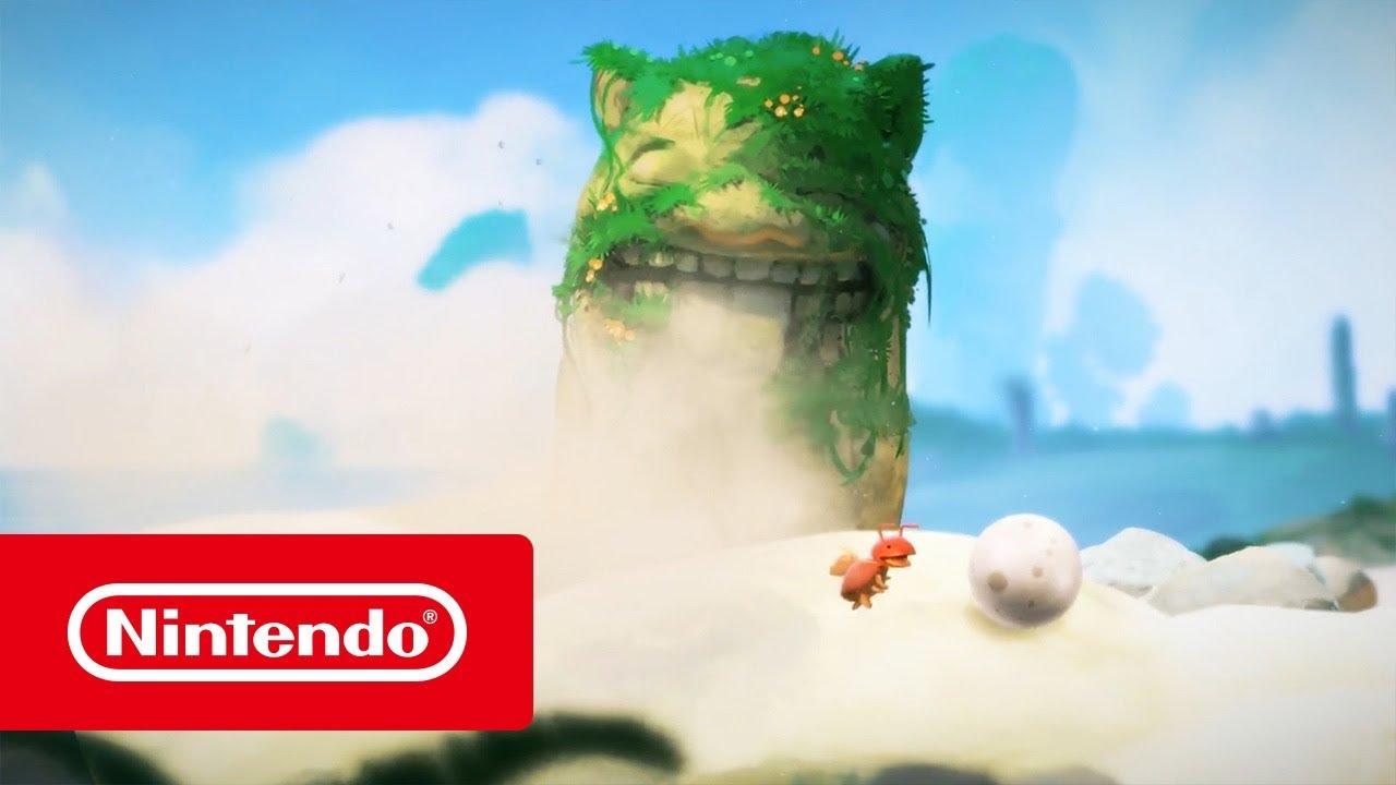 Yoku's Island Express - Launch Trailer (Nintendo Switch)