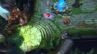 Trying to out run Akali
