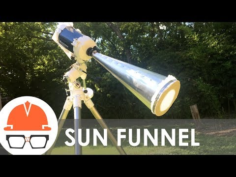 How to Super-Size the Eclipse - Sun Funnel
