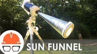 How to Super-Size tнe Eclipse - Sun Funnel