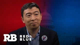 2020 presidential candidate Andrew Yang on why he's pushing for a universal basic income