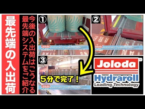 Introduce the cutting-edge arrival and shipment of Europe!Jolodacompany operated automatic loading