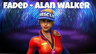 Fortnite music notes Fade by Alan Walker