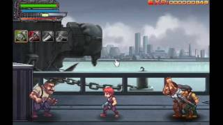 Jugando por segunda vez Arm of Revenge (minijuegos)