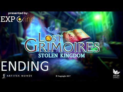 Lost Grimoires: Stolen Kingdom WALKTHROUGH - Ending - Hidden Object Gameplay [XBOX ONE]
