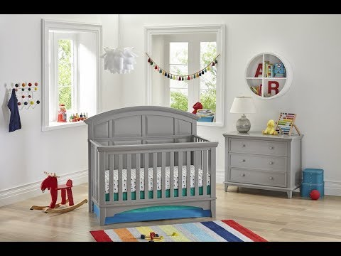 Brooklyn 4-in-1 Convertible Crib | Baby Furniture Sets | Kolcraft Baby