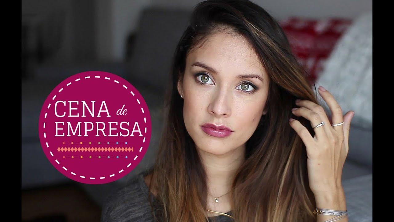 ideas para maquillaje y peinado para tu cena de navidad i youtube