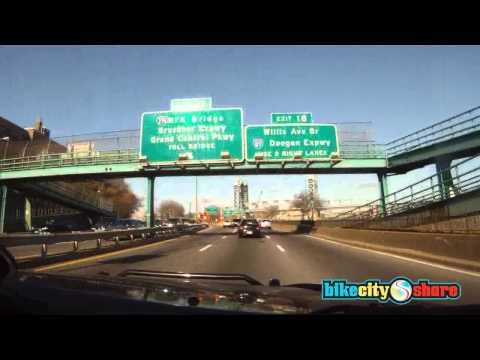 US: New York City, FDR East River to Washington Br. (car) 45 min