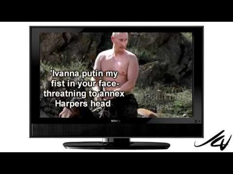 Harper vs Putin -  fight of the century -  YouTube