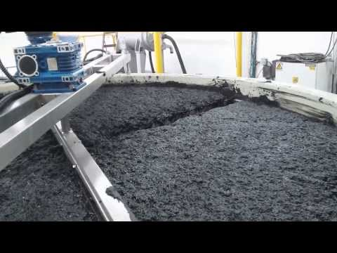 GreenFloat DAF at BEST CARTON, IS, Flexo. Wastewater Treatment 5 m3/hr - sludge scraping