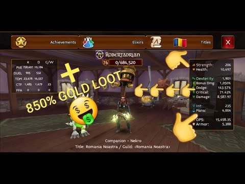 Gear Update + 850% Gold Loot | Arcane Legends