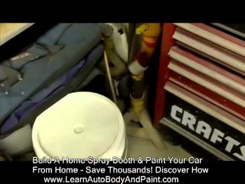 How To Spray Paint Car From Home