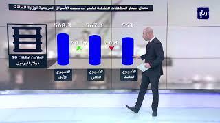 """""""الطاقة"""": ارتفاع معدل سعر نفط  برنت للأسبوع الثالث واستقرار نسبي للمشتقات النفطية (26/8/2019)"""