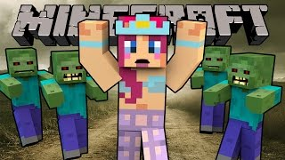 I CAN'T DO THIS!   The Blocking Dead MINECRAFT!   Amy Lee33