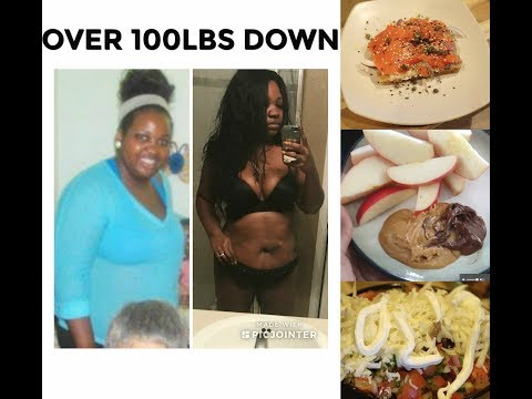 WHAT I EAT IN A DAY 2018 BODY TRANSFORMATION AFTER 100LB WEIGHT LOSS| MEAL IDEAS