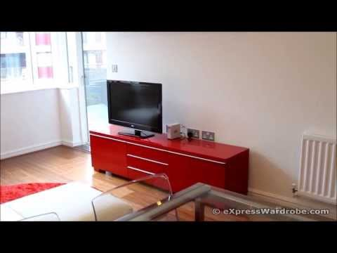 IKEA Besta Burs TV Bench with Storage, Glass Extendable Dining Table with Chairs