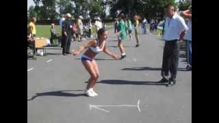 12 летняя девочка побила рекорд гиннеса по прыжкам на скакалке