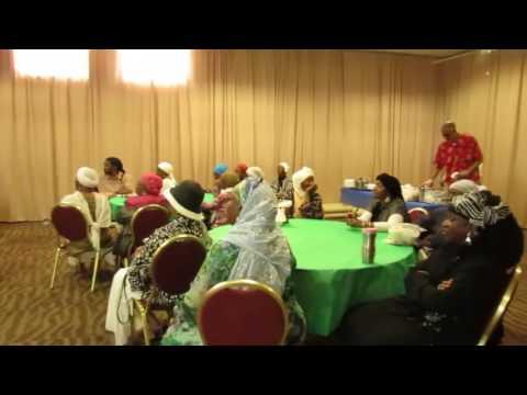 MUSLIM AMERICANS TRAVELING TO SENEGAL SEND OFF 1