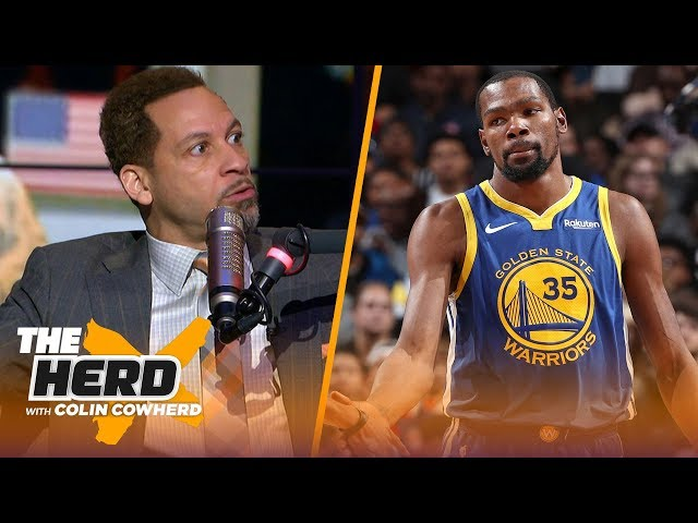 Chris Broussard says jealousy is behind KDs comments on LeBron, talks Westbrook | NBA | THE HERD