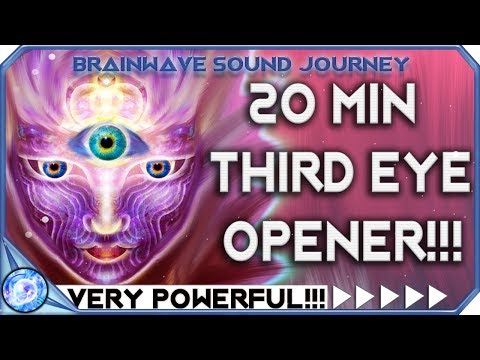 ( WARNING!!! ) Instant Third Eye Stimulation | THIRD EYE OPENER = VERY POWERFUL THIRD EYE MUSIC