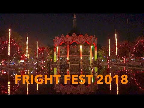SIX FLAGS GREAT AMERICA FRIGHT FEST 09-15-18