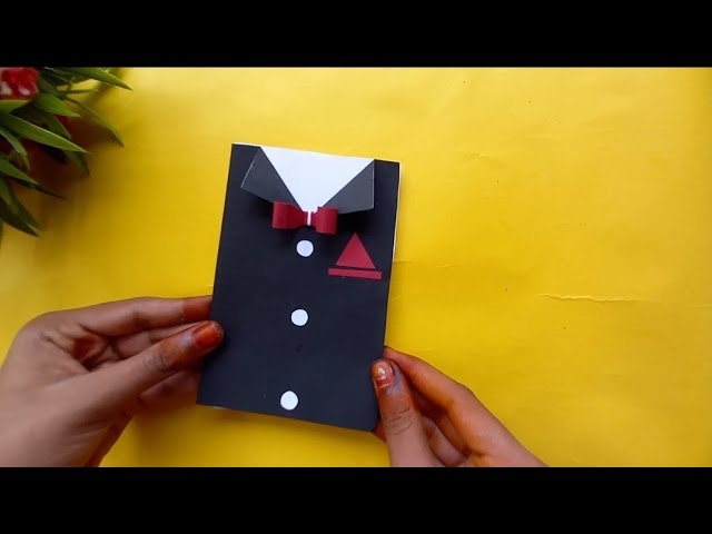 easy father's day card idea|hand made father's day card|