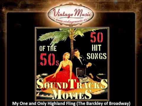My One and Only Highland Fling (The Barckley of Broadway)(VintageMusic.es)