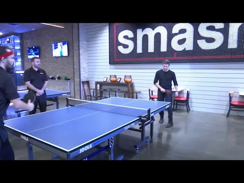 Smash Ping Pong, Restaurant, and Bar | River City Live