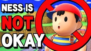 NESS IS BANNED