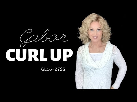Gabor CURL UP Wig Review | GL16-27SS Buttered Biscuit | MODIFIED | SHOW AND SELL