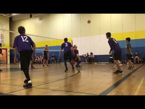 St Peter's High School Barrie, Ontario Junior Volleyball 2017