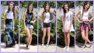 Summer OOTW (Outfits of the Week!!)