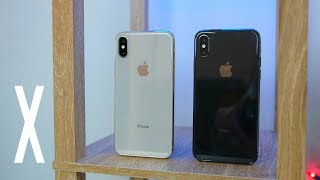 iPhone X: Space Gray vs Silver Color Comparison!