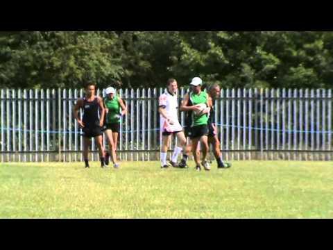 Guernsey v NZ 1st Half NZ Touch Academy Europe Trip 2011