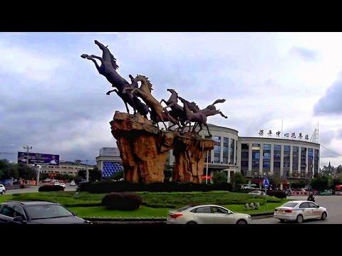 重慶司機沒找到路梁平區繞小圈重回G42高速路 Liangping, Chongqing (China)