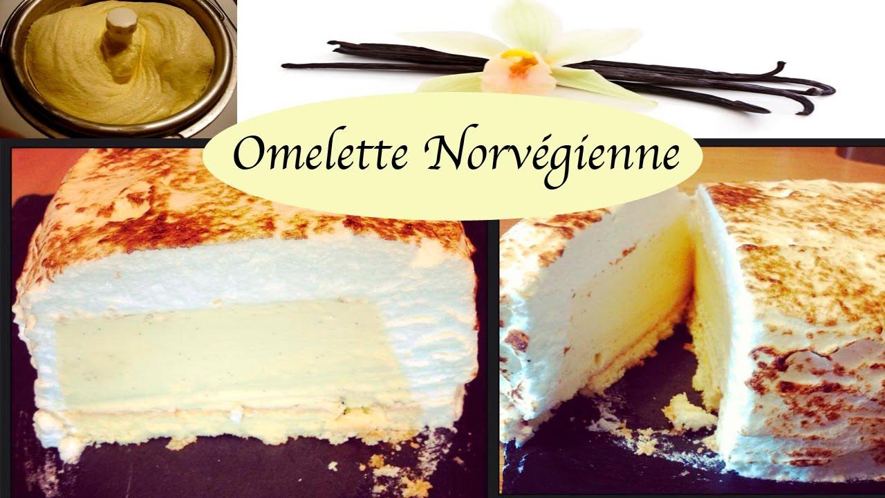 Souvent Recette Omelette Norvégienne facile - YouTube US09