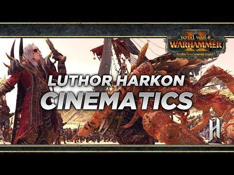Luthor Harkon\'s Campaign Cinematics | Curse of The Vampire Coast DLC