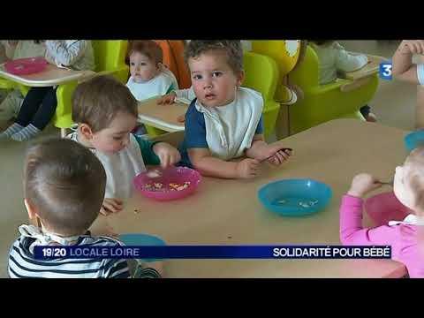 Saint-Etienne : une crèche se lance dans la collecte de produits pour les bébés des Restos du coeur