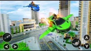 Car Shooting Game   Flying Car - shooting game    modern car games 2021 screenshot 3