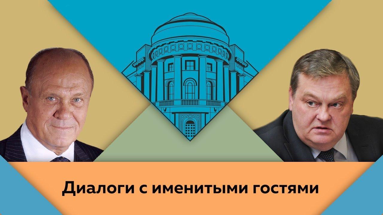 В.В.Меньшов и Е.Ю.Спицын в студии МПГУ. «Детство, отрочество, юность»
