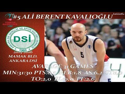 Berent Kavalıoğlu 2015-2016 Mamak Bld. Ankara DSİ TBL