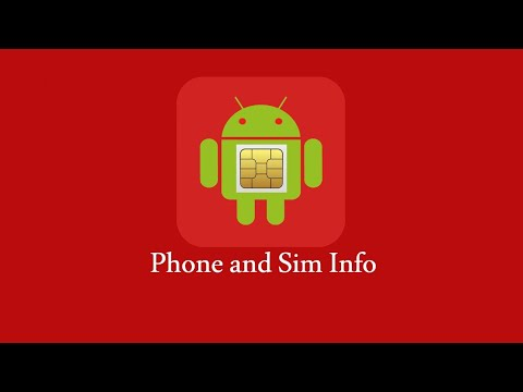 Phone and SIM Info - Apps on Google Play