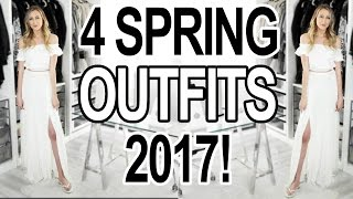 4 SPRING OUTFITS & TRENDS + BRIDAL OUTFIT IDEAS!