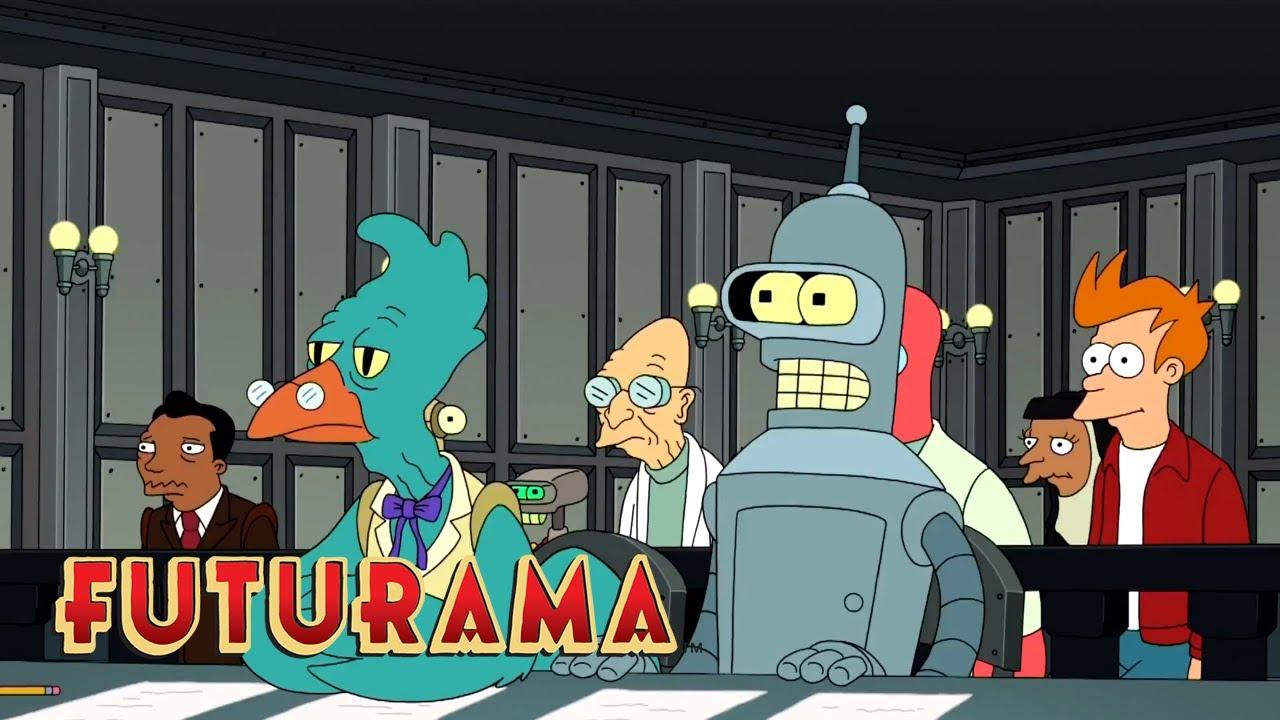 FUTURAMA | Season 9, Episode 9: Innocent Robot | SYFY - YouTube