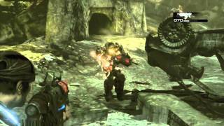 Gears Of War 3 Walkthrough Part 23 [ Act 4 - Chapter 2 ] HD - Let's Play (Gameplay)