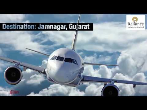A 20-Something On A Private Jet To An Oil Refinery - Reliance Cafe