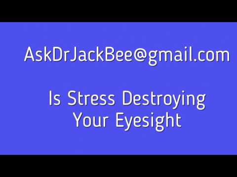 Omaha Health- Is Stress Destroying Your Eyesight