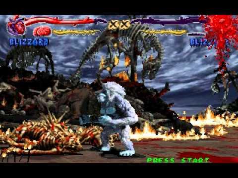 Primal Rage Blizzard Arcade Run Part 2 - YouTube
