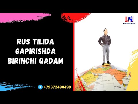 RUS TILIDA GAPIRISHDA BIRINCHI QADAM!!!